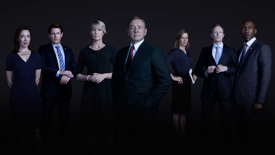 Molly Parker, Derek Cecil, Robin Wright, Kevin Spacey, Kim Dickens ...