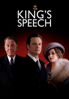 Netflix box art for The King's Speech