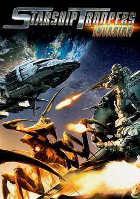 Netflix Box Art for Starship Troopers: Invasion
