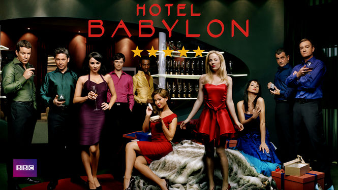 Netflix box art for Hotel Babylon - Season 4