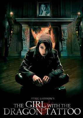 Netflix box art for The Girl with the Dragon Tattoo