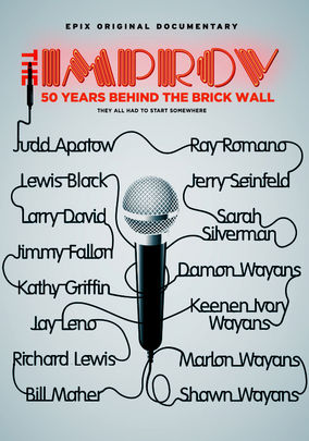 Netflix Box Art for Improv: 50 Years Behind the Brick Wall, The