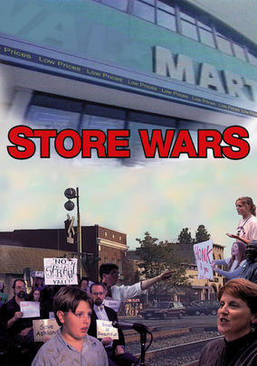 Netflix box art for Store Wars