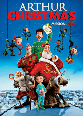 Netflix Box Art for Arthur Christmas