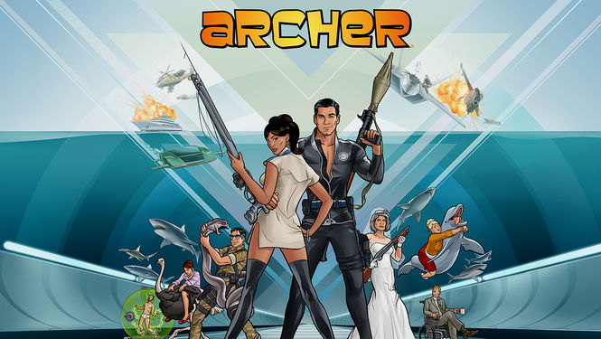 Netflix box art for Archer - Season 2