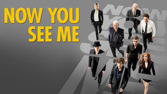 Netflix box art for Now You See Me