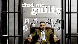 Is Find Me Guilty on Netflix?