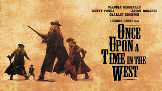 Netflix box art for Once Upon a Time in the West