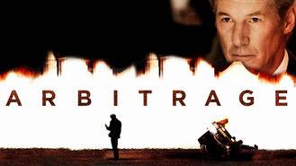 Netflix box art for Arbitrage