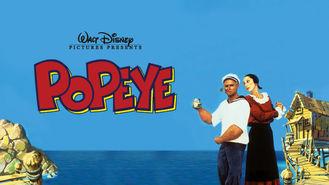 Netflix box art for Popeye